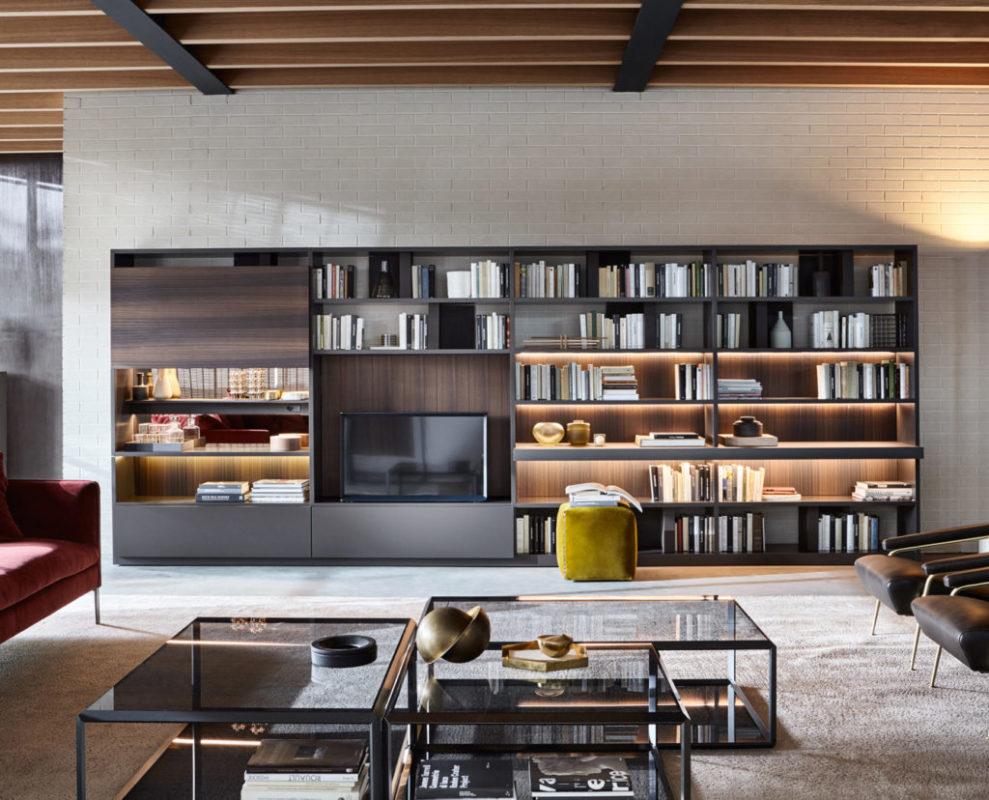 Soggiorni moderni mobili arredamento casa arredo morelli for Aziende produttrici di mobili