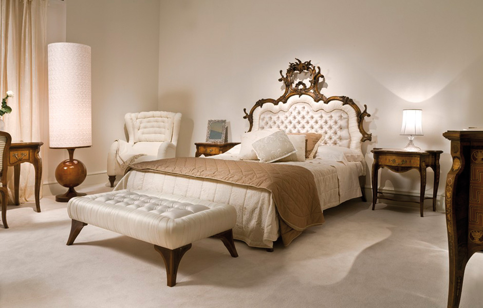 Camere da letto classiche arredamento casa arredo morelli for Arredamento letto