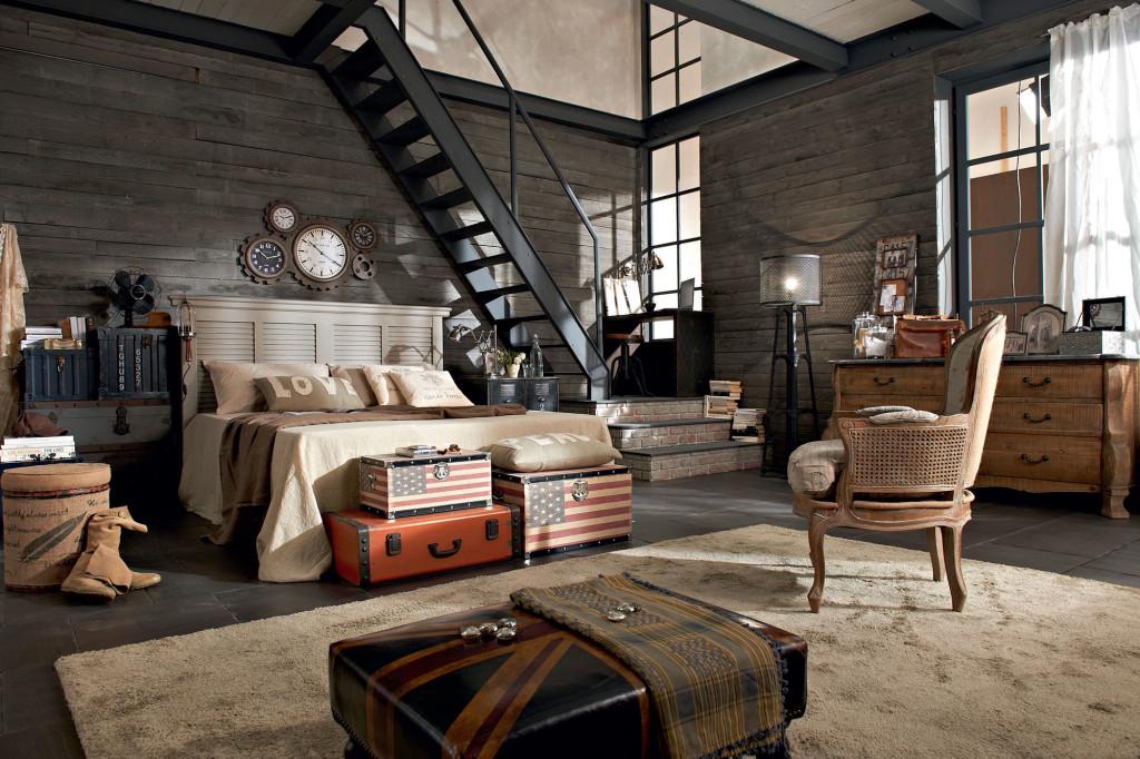 Camere da letto classiche arredamento casa arredo morelli - Camera da letto a soppalco ...